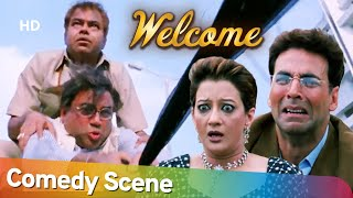 Movie Welcome Comedy Scene of Akshay Kumar - Paresh Rawal - Sanjay Mishra - Nana Patekar