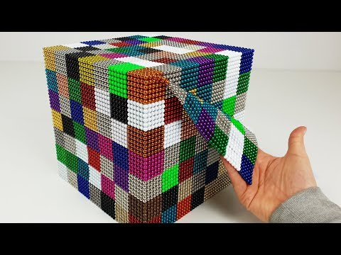 ASMR so many colorful Magnetic Balls | Magnetic Games