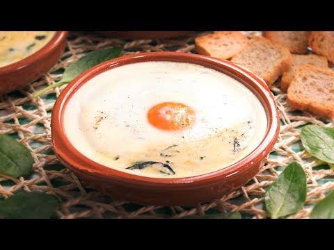Huevos Florentinos o a la Florentina | Receta rápida y sencilla