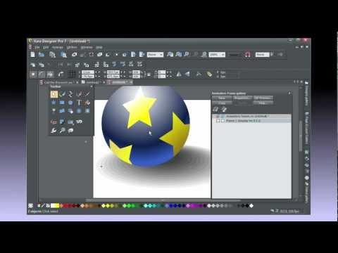 Creating  Animations in Xara Designer