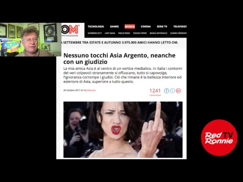 Asia Argento giudicata da tutti - Let's Spend Saturday Night Together 2/22.10.17
