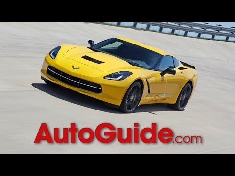2014 Chevrolet Corvette Stingray Hot Lap at AutoGuide Test Track