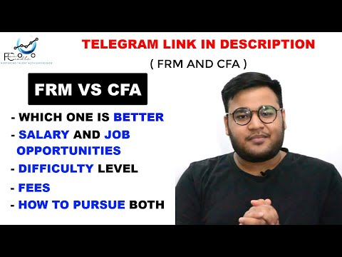Which One Is Better   How To Pursue CFA And FRM   Salary ...