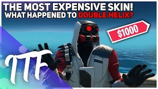The Most Expensive Fortnite Skin - What Happened To Double Helix?  Fortnite Battle Royale