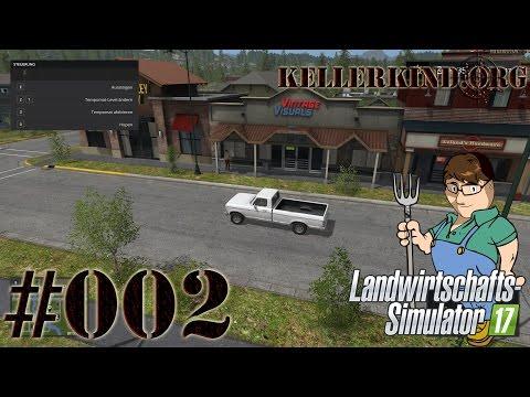 Landwirtschafts-Simulator 17 #002 - Eine Stadttour ★ Farming Simulator 17 [HD|60FPS]