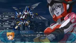 Super Robot Taisen OG: The Moon Dwellers - All Combination Attacks