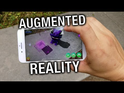 iPhone 8 Plus Augmented Reality: Apple AR is a HUGE step ahead!