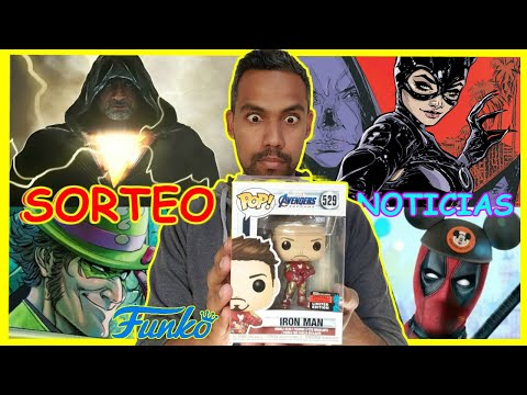 SORTEO FUNKO POP- SONIC, DEADPOOL EN UCM, BLACK ADAM, ESCANDALO, TRAILER