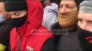 Медведчук в Николаеве: сотни полицейских, конфликты с националистами. ВИДЕО
