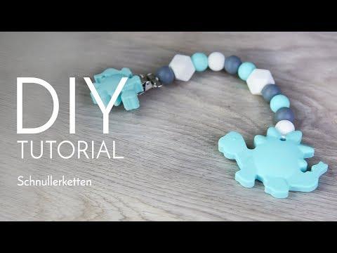 Schnullerketten - DIY Anleitung - Perlenladen