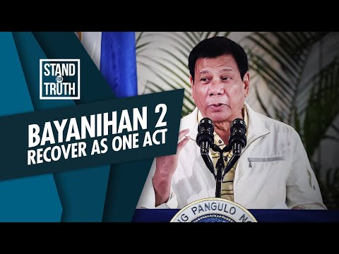 [GMA]  Stand for Truth: Bayanihan to Recover as One Act, ano'ng bago?