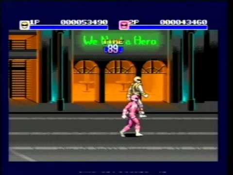 mighty morphin power rangers - the movie genesis rom cool