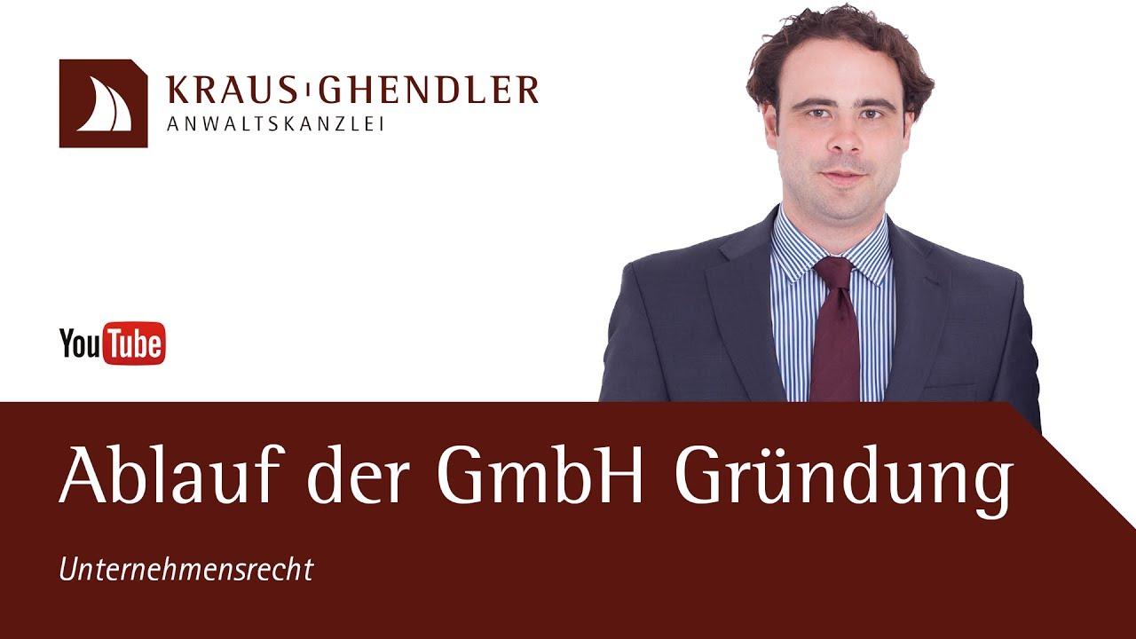 Ablauf GmbH Gründung