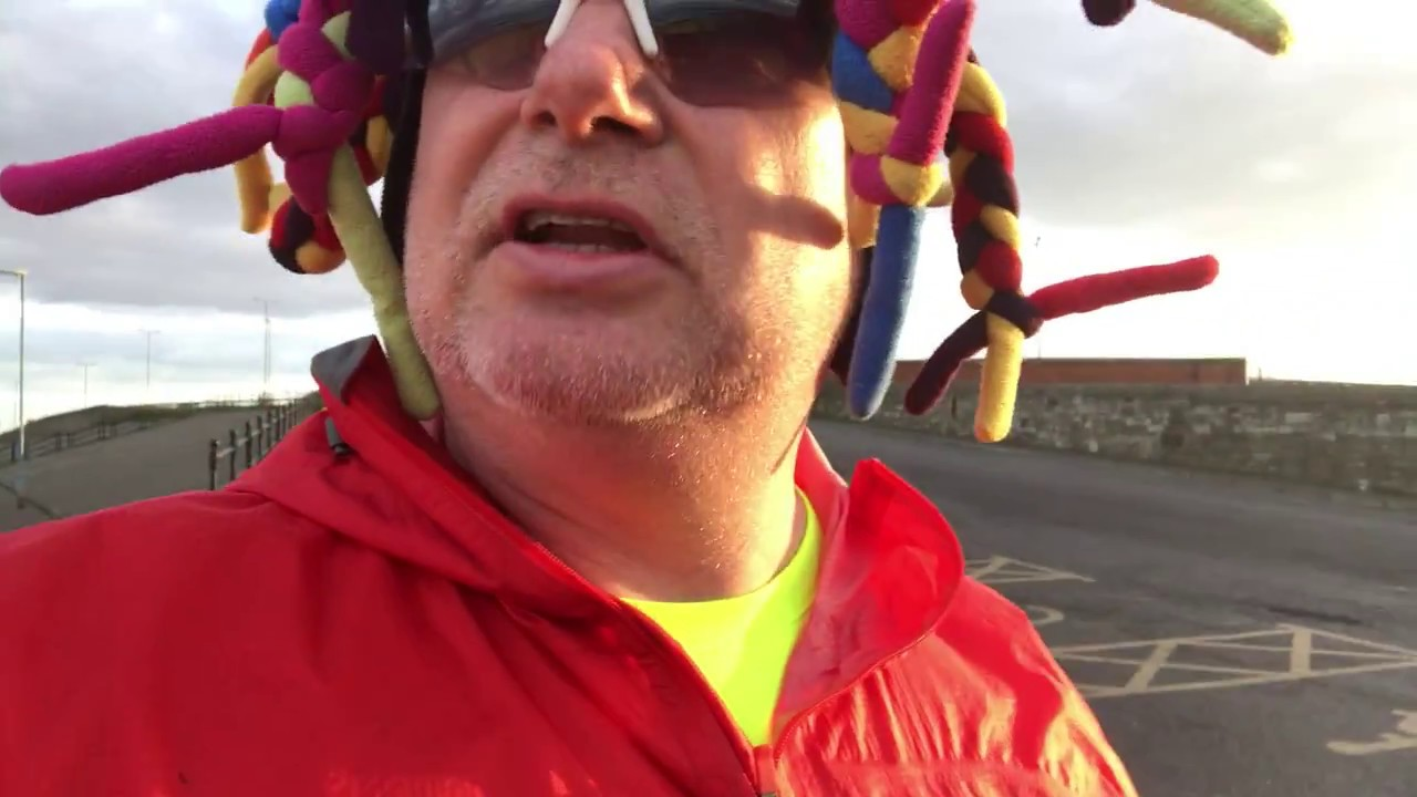 Hartlepool Charity Man receives abuse whilst running his miles
