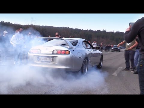 BURNOUTS, LAUNCH CONTROL, DONUTS - BDG Trackday Spa 2019