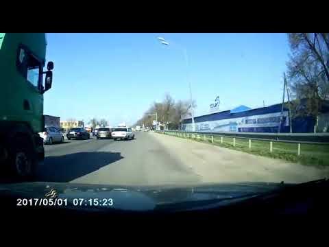Массовое ДТП на перекрёстке в Краснодаре