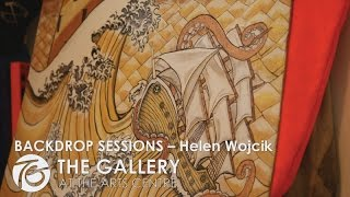 From murals to topsheets Helen Wojcik paints it all