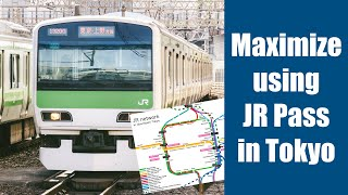 How much can you use JR Pass in Tokyo? Find the info about JR train network in Tokyo.