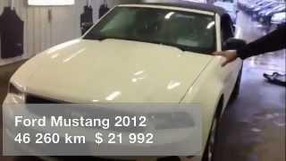 preview picture of video 'Ford Mustang Décapotable V6 2012 usagé à vendre à L'Ile Perrot'
