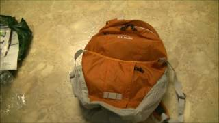 UNBOXING Portable Backpacks: LL Bean Stowaway Daypack 22L Version 2016 / 2017