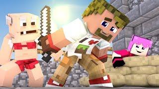 ДИЛЛЕРОН ТРОЛИТ НА КОНЕ УБИЙЦ!! BLOOD #24 Murder in Minecraft
