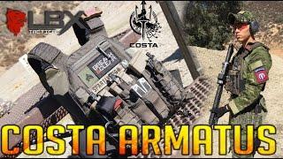 LBX-4019 COSTA LUDUS ARMATUS - MAP SYSTEM REVIEW - SPARTAN117GW