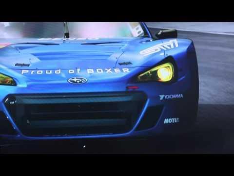 Subaru BRZ GT300 Race Car - Tokyo Motor Show 2011
