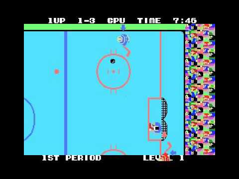 Champion Ice Hockey (MSX, rom, 1986 Sega)