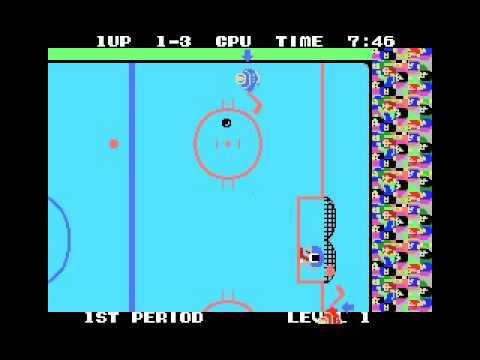 Champion Ice Hockey (MSX, rom, 1986 Sega)