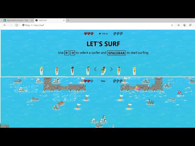 Как сыграть в секретную игру в браузере Microsoft Edge