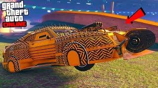 "THE WORST DEMOLITION CAR ""GTA ARENA WAR DLC UPDATE!"" - GTA Online"