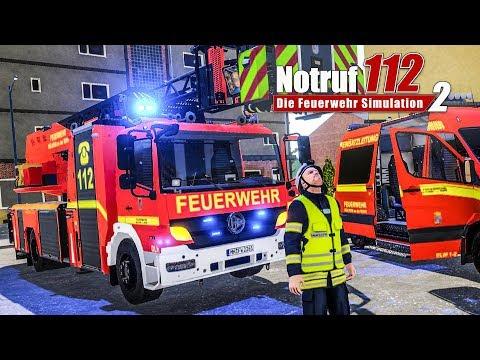 NOTRUF 2: KATZE auf dem BAUM - Einsatz für die Drehleiter | Preview | Feuerwehr Simulator Notruf 112