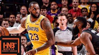 Los Angeles Lakers vs Houston Rockets Full Game Highlights   12.13.2018, NBA Season