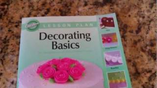 Wilton Method Course 1: Decorating Basics - Lesson 1, Part 1