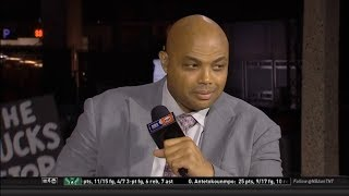 Charles Barkley surprise to Raptors outlast Bucks 120-102 in Game 4 East Finals to tied 2-2 series