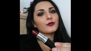 Mac Diva Lipstick & Too Faced Chocolate Bar Makeup Tutorial
