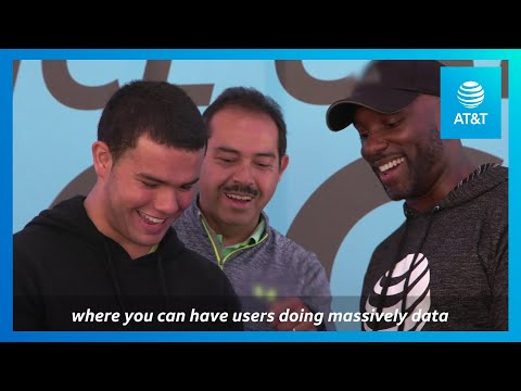 AT&T Brings Holographic Dance-Off to Falcons Fans-youtubevideotext