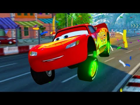 Lightning McQueen Return To Italy! Disney Pixar's Cars 3
