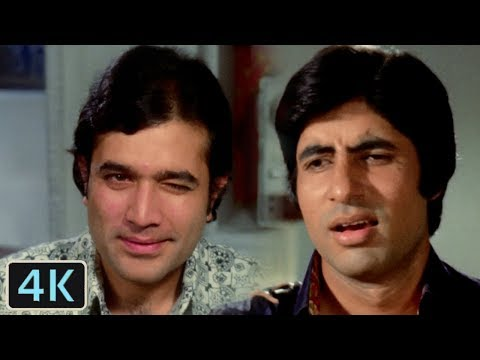 Diye Jalte Hain   Amitabh Bachchan, Rajesh Khanna   Namak Haraam   Full 4K Video Song