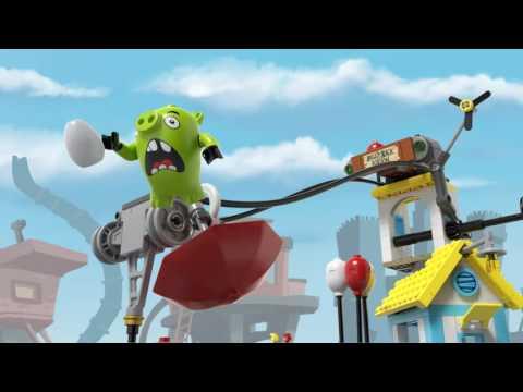LEGO® Angry Birds - 75824 Демонтаж Свин-сіті