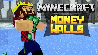 ДЕНЕЖНЫЕ СТЕНЫ?! - Minecraft Money Walls (Mini-Game)