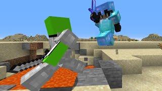 Minecraft Speedrunner VS Full Diamond Juggernaut