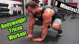 Intense 5 Minute At Home Tricep Workout #2 by Anabolic Aliens