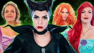 Disney Princesses Sing Maleficent's You Can't Stop The Girl