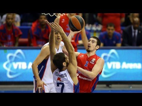 Highlights: CSKA Moscow-Anadolu Efes Istanbul