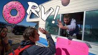 RV DONUT TRUCK POP UP SHOP!