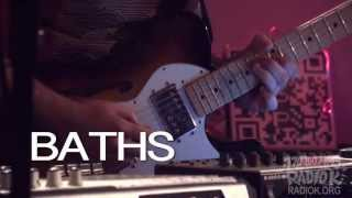 "Baths - ""Worsening"" (Live on Radio K)"