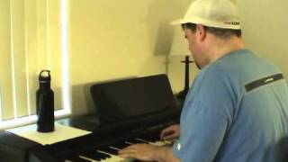 """I'm Already There (Lonestar) - Acoustic Cover by """"Piano Man"""" Steve Lungrin"""