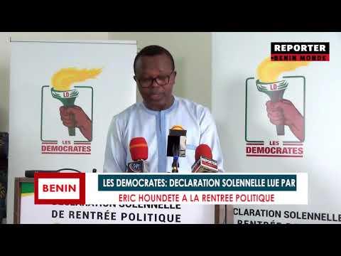 REPORTER BENIN MONDE : LE PARRAINAGE EST UNE FRAUDE ELECTORALE AU BENIN REPORTER BENIN MONDE : LE PARRAINAGE EST UNE FRAUDE ELECTORALE AU BENIN
