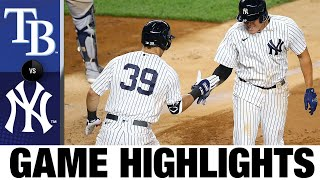 DJ LeMahieu, Gio Urshela lead Yankees to win | Rays-Yankees Game Highlights 9/1/20